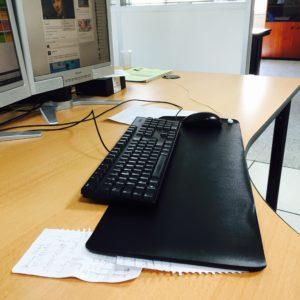 tapis earthing mise à la terre sur poste de travail - Be Onde
